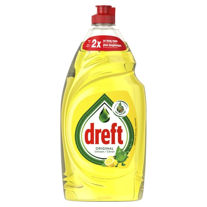 Dreft Dreft Waschen Sie Zitrone 890 ml