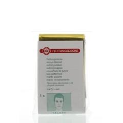 Rettungsdecke Gold / Silber 160x210 1 Stck