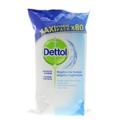Hygienische Reinigungstücher 80 Stück