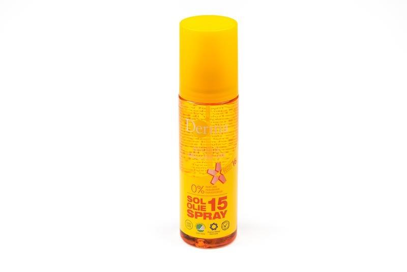 Derma Sonnenöl SPF15 200 ml