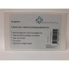Drogentest 5 Multi Urin 1 Stck