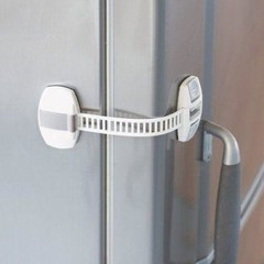 Pinch Lock selbstklebend weiß 20 cm 1 Stck