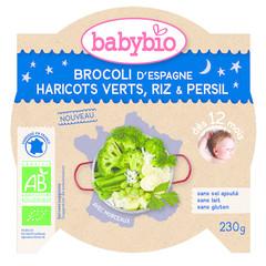 Mon Petit Flat Broccoli Prinzessin Bohnen Reis 230 Gramm