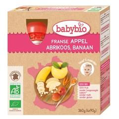 Apfel Aprikosenbanane 90 Gramm 4 Stück