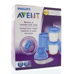Muttermilch-Set & Adapter 1-Set über Aufbewahrungsbecher