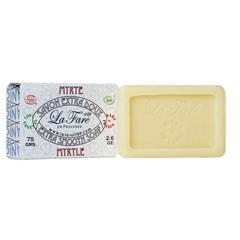 Seife extra glatte Myrte Bio 75 Gramm