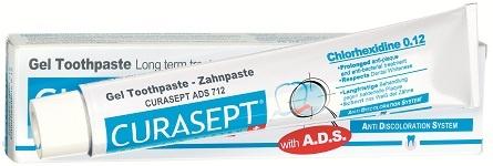 Curasept ADS Gel Zahnpasta - 0,12% Chlorhexidin 75 ml