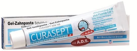 Curasept ADS Gel Zahnpasta 0,05% Chlx und 0,05% Fluorid 75 ml