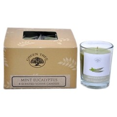 Duftkerze Minze Eukalyptus 55 Gramm