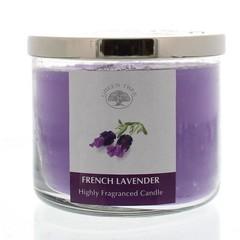 Duftkerze Französisch Lavendel 400 Gramm