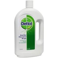 Braune Flüssigkeitsdesinfektion 1 Liter