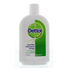 Braune Flüssigkeitsdesinfektion 500 ml