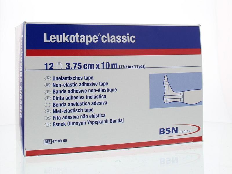 Leukotape Leukotape 10 mx 3,75 cm weiß 47109 12 Stk