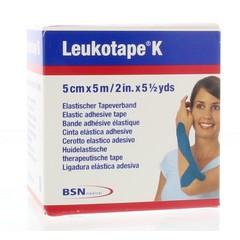 Leukotape K 5 mx 5,0 cm blau 1 Stck