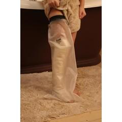 Schutzhülle Kind ganzes Bein 8-10 Jahre 1 Stck