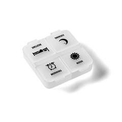 Medikamentenkassette 1 Tag H & F 1 Stck