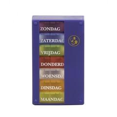 Pillendose 1 Woche 3 Fächer Niederländisch 1 Stck
