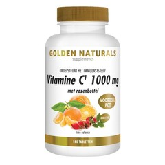 Vitamin C 1000 + Hagebutte 180 Tabletten