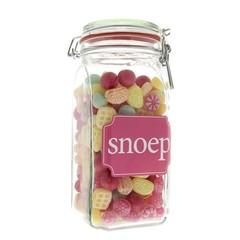 Weck Glas Süßigkeiten alten holländischen 900 Gramm