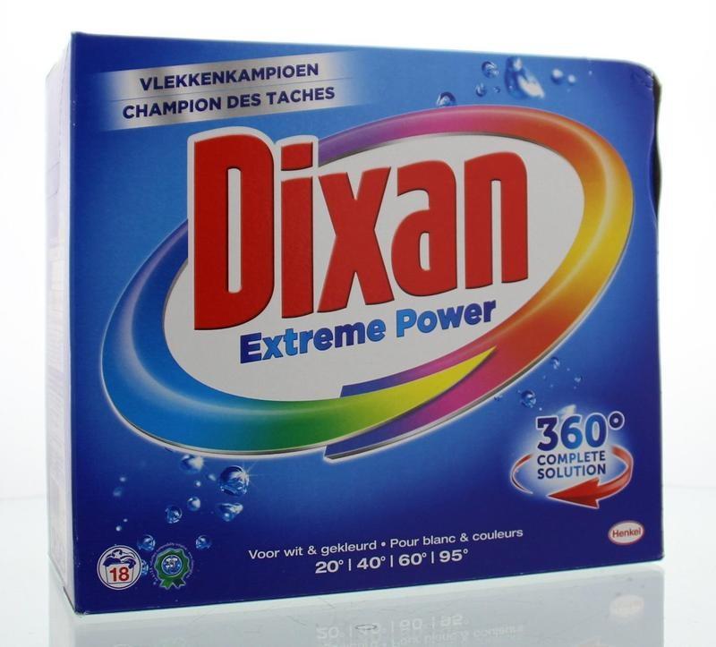 Dixan Extremes Pulver 1170 Gramm