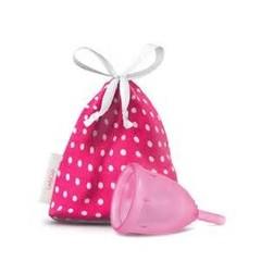 Menstruationstasse rosa Größe L 46 mm 1 Stck
