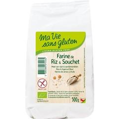 Mehl Reis Mandeln glutenfrei 500 Gramm