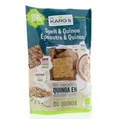 Dinkel und Quinoa Snack 110 Gramm