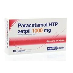 Paracetamol 1000 mg 10 Zäpfchen