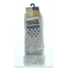 Slipper Socke Anti Slip Kinder dunkel sortiert 23-26 1 Paar