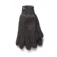 Herrenhandschuhe M / L Holzkohle 1 Paar