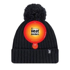 Damen Pom Pom Hut Arden schwarz Einheitsgröße 1 Stck