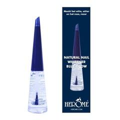 Natürlicher Nagelweißer blau leuchten 10 ml