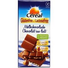 Milchschokolade Haselnuss glutenfrei 100 Gramm