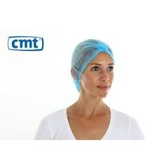 Baskenmütze blau Clipcap erkennbar 49 cm 100 Stück