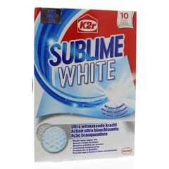 Erhabenes Weiß 10 Stk