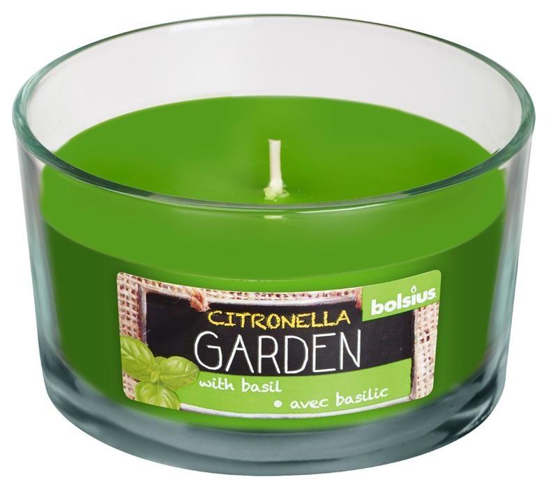 Bolsius Duftglas Citronella / Basilikum 1 Stk