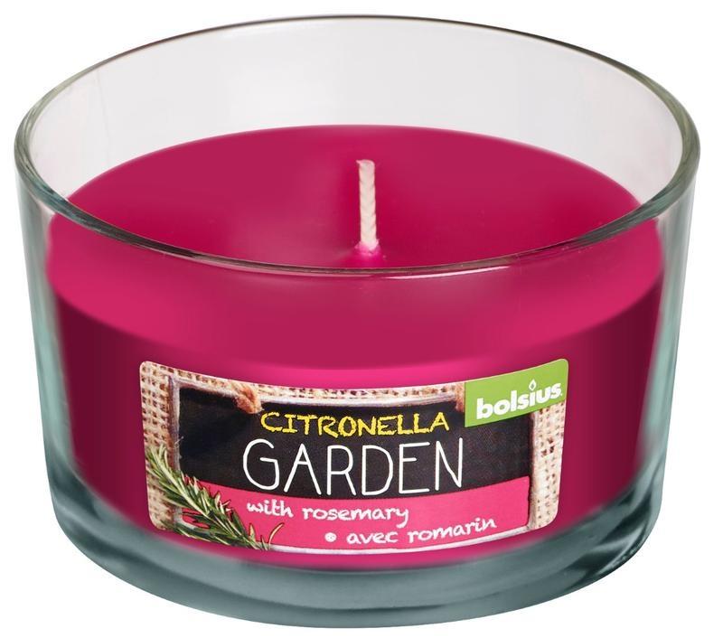 Bolsius Duftglas Citronella / Rosmarin 1 Stck