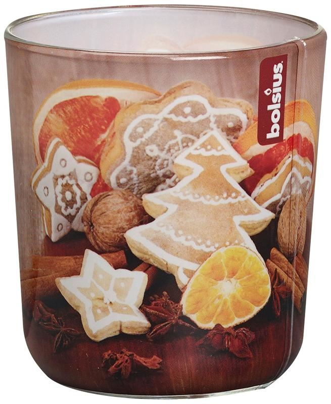Bolsius Duftglas 80/73 Lebkuchen 1 Stck