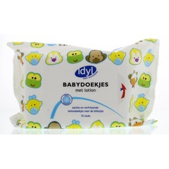 Babytücher Rabattbox 4 x 72 Stück