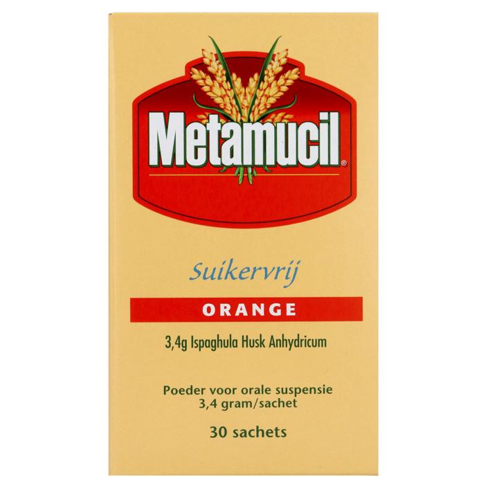 Metamucil Metamucil Orange zuckerfrei 30 Beutel