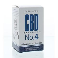 Cannamedic CBD Capsules No. 4 1,5 mg 100 Kapseln.