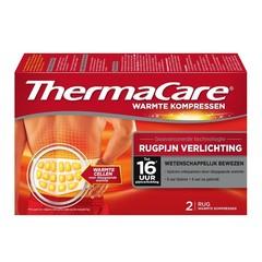 Wärmekompresse zur Linderung von Rückenschmerzen