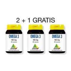 Omega 3 500 mg Aktion 2 + 1