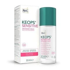 Keops Deo-Rolle auf empfindlicher Haut
