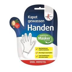 Gebrochene gewaschene Handmaske