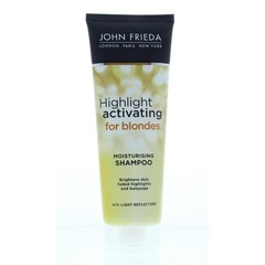 Transparentes Blond-Shampoo-Highlight aktivierend