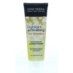 Transparente blonde Spülung, die das Highlight aktiviert