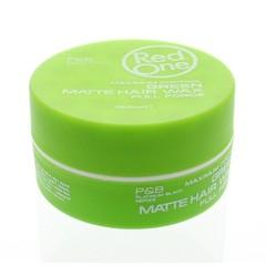 Haarwachs matt grün