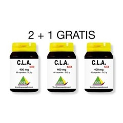 CLA 400 mg pure Aktion 2 + 1 gratis