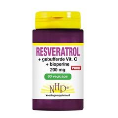 Resveratrol 200 mg/Vitamin C/Bioperin pur